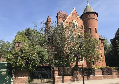 The Tower House, one of several houses in Melbury Road, Holland Park, where we have acted for the leaseholder.